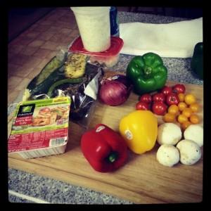 bbq tofu and veggies 1