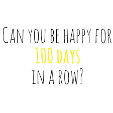 can you be happy 100days